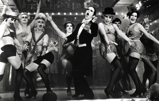 Joey Grey and the original Broadway cast of Cabaret. Photographer unknown