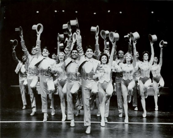 The cast of A Chorus Line. Photograph courtesy of Martha Swope