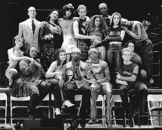 The original Broadway cast of Rent. Photographer unknown