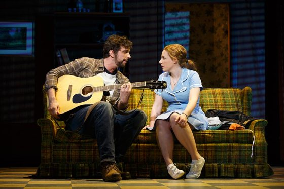 Nick Cordero and Jessie Mueller in Waitress on Broadway. (Photo: Joan Marcus)