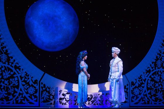 Original Broadway Cast of Aladdin | Photo courtesy of Cylla von Tiedemann