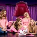 Erika Henningsen as Cady, Ashley Park as Gretchen, Taylor Louderman as Regina and Kate Rockwell as Karen in Mean Girls. Photo courtesy of Joan Marcus