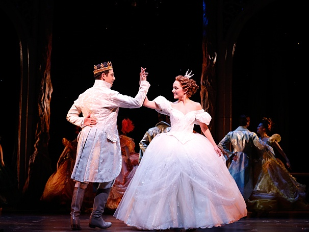 Santino Fontana and Laura Osnes in Cinderella Photo courtesy of Carol Rosegg