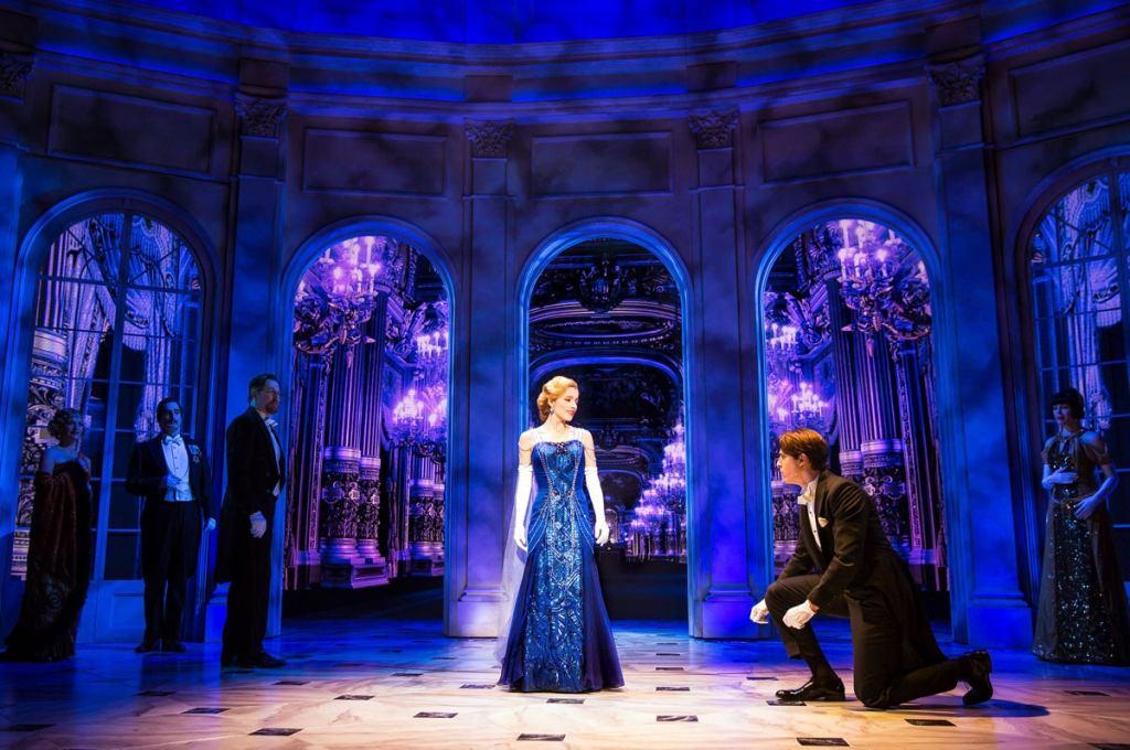 Original Broadway cast of Anastasia. Photo courtesy of Matthew Murphy and Evan Zimmerman