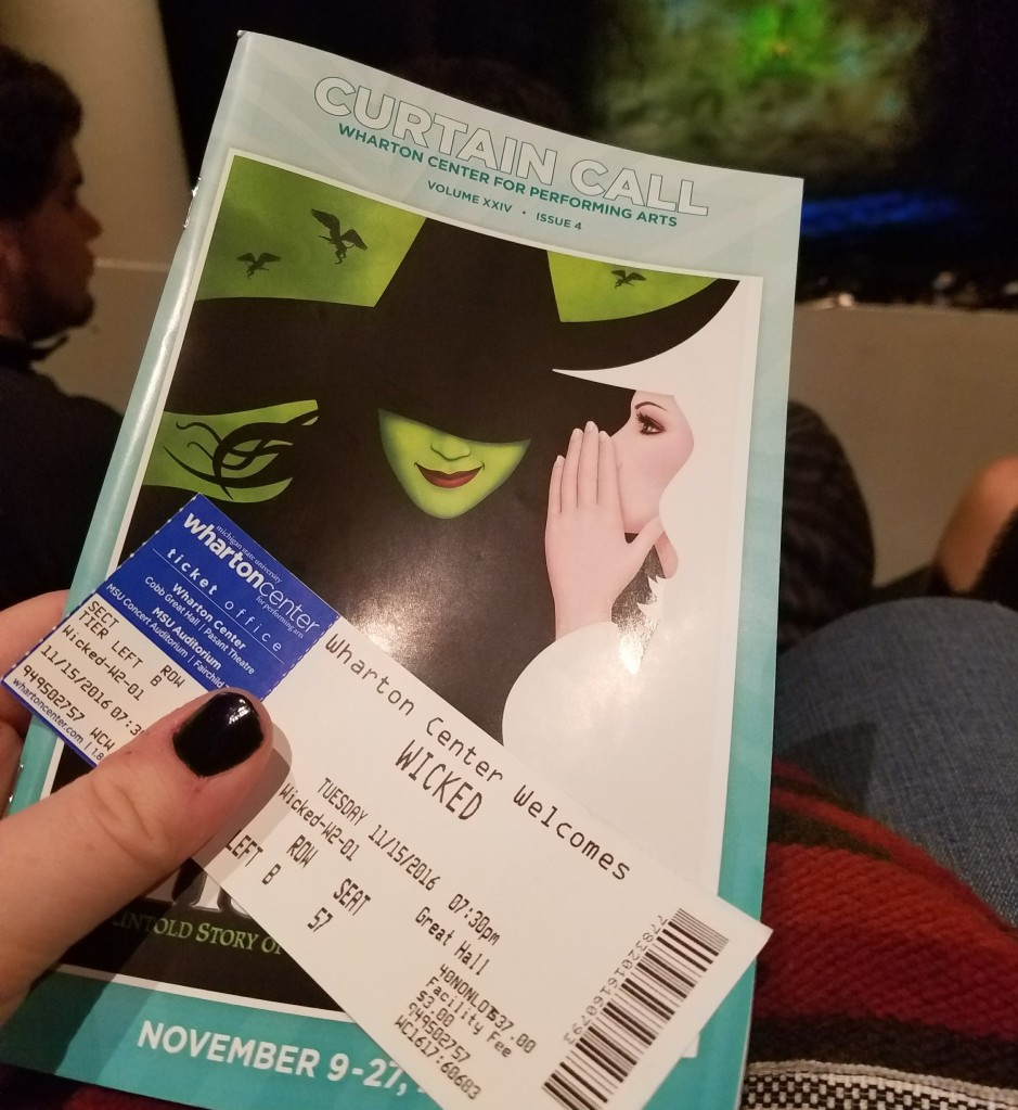 Wicked lottery seats | Photo courtesy of theatrenibbles.com