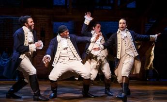 Original Broadway Cast of Hamilton - Courtesy of Joan Marcus
